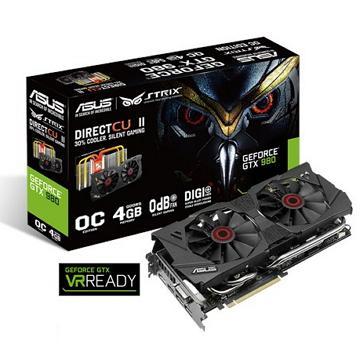 ASUS華碩 Strix GeForce GTX 980 顯示卡(STRIX-GTX980-DC2OC4G)