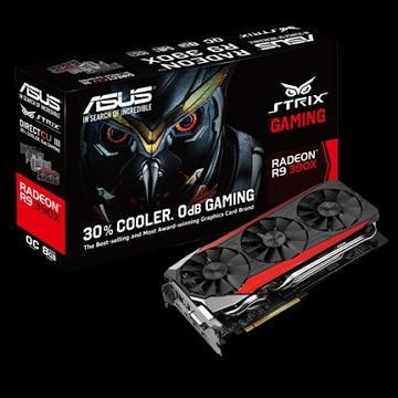 ASUS華碩 STRIX R9 390X 顯示卡(STRIX-R9390X-DC3OC-8GD5)
