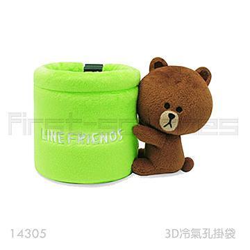 LINE多功能置物掛袋-熊大(LN-14305)