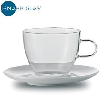 JENAER GLAS 咖啡杯含瓷碟(重量(g):400 (±10g))