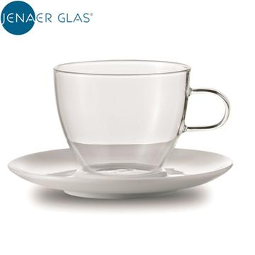 JENAER GLAS Cappuccino 咖啡杯含瓷碟(重量(g):400 (±10g))