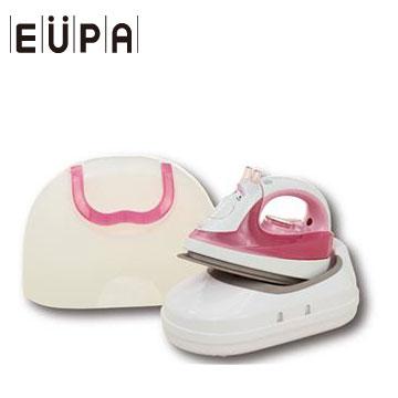 【拆封品】EUPA 禮盒式無線熨斗