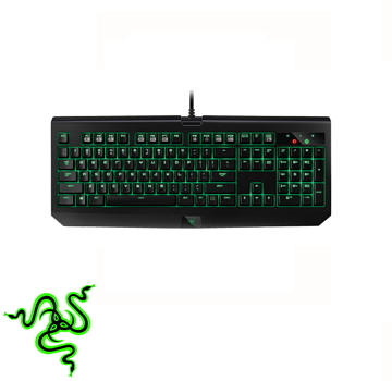 Razer 2016 黑寡婦終極鍵盤(綠軸)