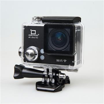 DRACO 4K超高清運動防水攝影機-黑(SC4K-黑)