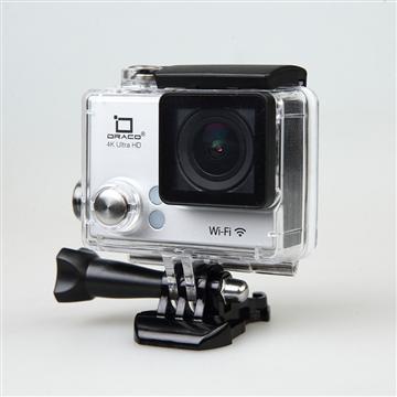 DRACO 4K超高清運動防水攝影機-銀(SC4K-銀)