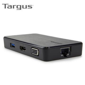 Targus 雙視訊攜行擴充工作站