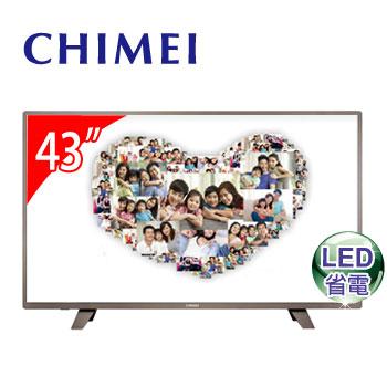 CHIMEI 43型低藍光LED顯示器 TL-43A300(視165062)