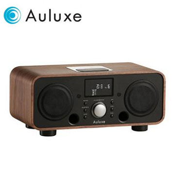 Auluxe NFC/藍牙/USB揚聲器(New Breeze(胡桃木黑))