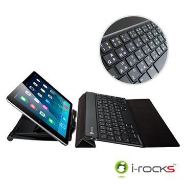 i-Rocks超薄型平板專用藍牙鍵盤(IRK36B)