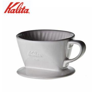 日本Kalita陶瓷濾杯101/白(01001)