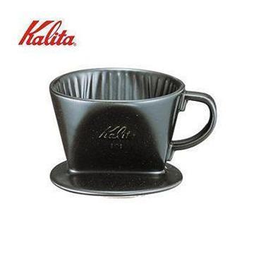 日本Kalita陶瓷濾杯101/黑(01005)