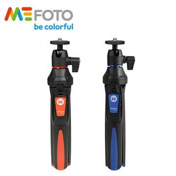 MeFOTO 美孚 MK10 藍牙自拍迷你腳架(附藍牙遙控器-藍)