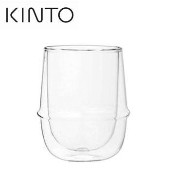 KINTO KRONOS 250ml雙層玻璃杯(MVW-23107)