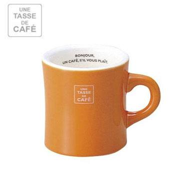 UN CAFE 300C.C馬克杯-橘色(MVW-IBK-236024)