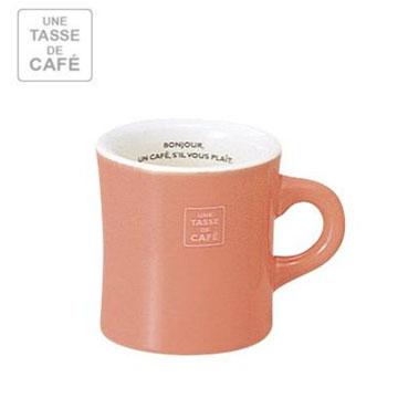 【福利品】UN CAFE 300C.C馬克杯-粉橘色