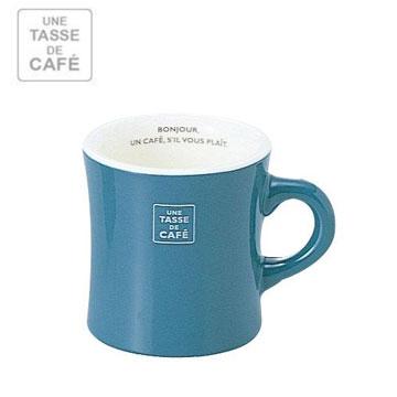 【福利品】UN CAFE 300C.C馬克杯-藍綠色