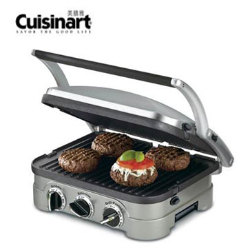 Cuisinart多功能燒烤/煎烤盤(GR-4NTW) | 快3網路商城~燦坤實體守護