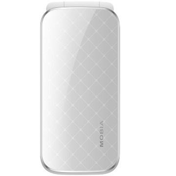 MOBIA M600 雙卡雙待 3G 貝殼機 白色(M600白)