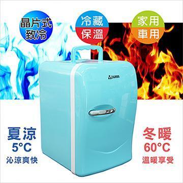 晶華ZANWA 22公升冷熱兩用行動冰箱/冷藏箱(CLT-22B)