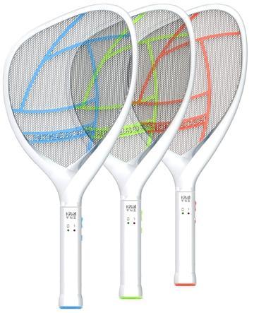可利亞忽必獵充電式三層電蚊拍(KR-008)