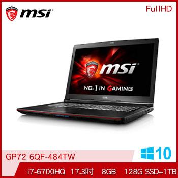 MSI GP72 Ci7 GTX960 電競獨顯筆電