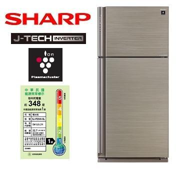 SHARP 540公升J-TECH 1級雙門變頻冰箱(SJ-PD54V-SL)