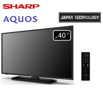 【福利品】 SHARP 40型LED液晶電視(LC-40LE275T)