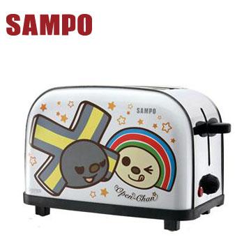 【福利品】聲寶OPEN小將烤麵包機(TR-LF65S(N))