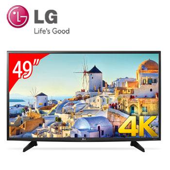 LG 49型4K LED智慧型液晶電視(49UH610T)
