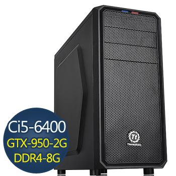 技嘉電競-戰爭機器 Ci5 8G 1TB GTX950 電競獨顯