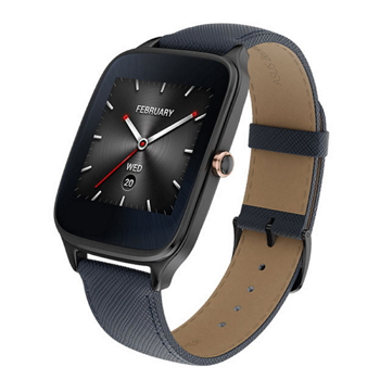 ASUS ZenWatch2智慧手錶-伯爵藍進化版
