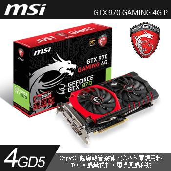 MSI GTX 970 GAMING 4G(GTX 970 GAMING 4G)