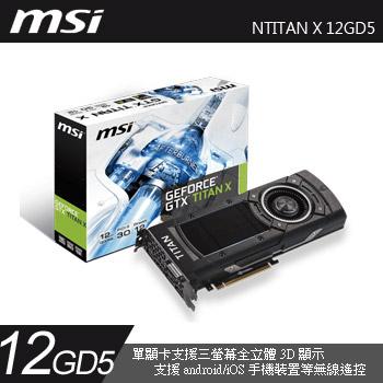 MSI NTITAN X 12GD5(NTITAN X 12GD5)