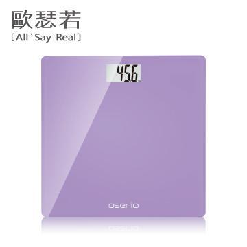 oserio數位體重計(紫色)(BLG-261B)