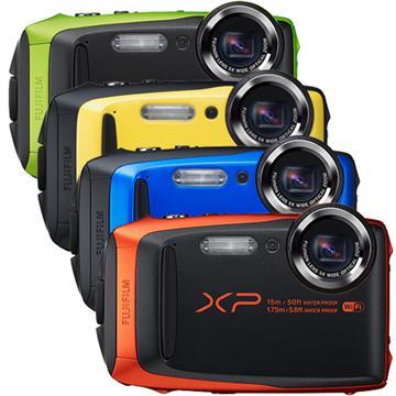 FUJIFILM XP90 防水運動相機-藍(XP90 (公司貨))