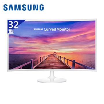 【32型】SAMSUNG Curved C32F391FWE液晶顯示器(C32F391FWE)