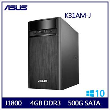 【福利品】ASUS K31AM J1800 桌上型電腦