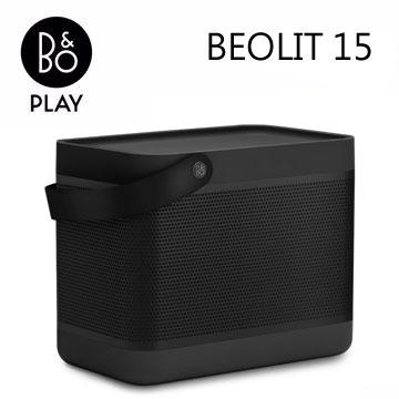 B&O PLAY藍牙揚聲器(Beolit 15(尊爵黑))