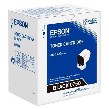 EPSON AL-C300N/DN黑色碳粉匣(C13S050750)
