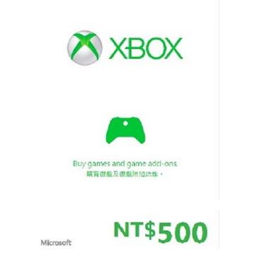 XBOX 禮物卡$500-02(K4W-01002)