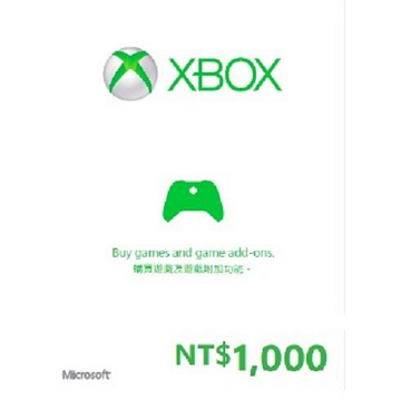 XBOX 禮物卡$1000(R15)(K4W-02499)