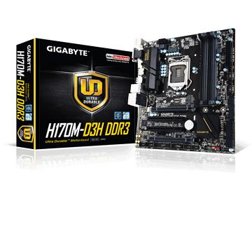 技嘉GA-H170M-D3H DDR3主機板(GA-H170M-D3H DDR3-1)