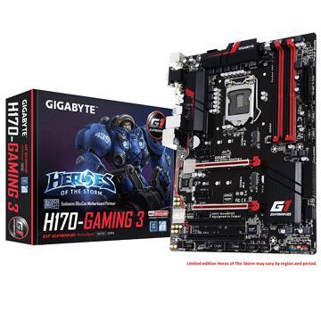 技嘉GA-H170-Gaming 3主機板(GA-H170-GAMING 3-1)