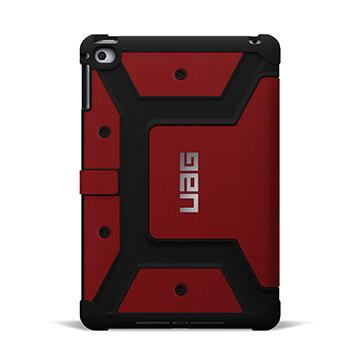 UAG iPad Mini 4 耐衝擊保護殼-紅(UAG-IPDM4-RED-VP)