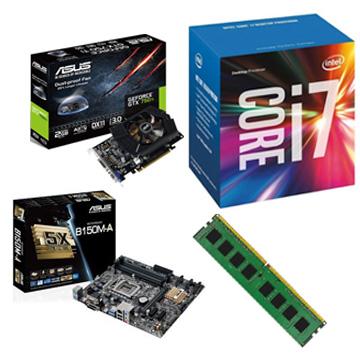 INTEL i7-6700 電競升級組(16G RAM)()