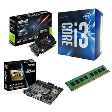 INTEL i3-6100 電競升級組(8G RAM)()