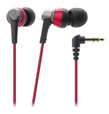 鐵三角 CKR3耳塞式耳機-紅(ATH-CKR3 RD)