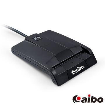 aibo AB20方塊甜心ATM晶片讀卡機-黑色