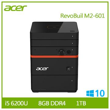 Acer Revo Build M2-601 Ci5-6200 1TB桌上型迷你主機