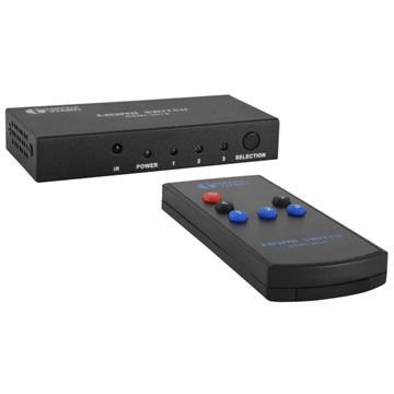 Townward 3進1出HDMI切換器(HDMI-3010)